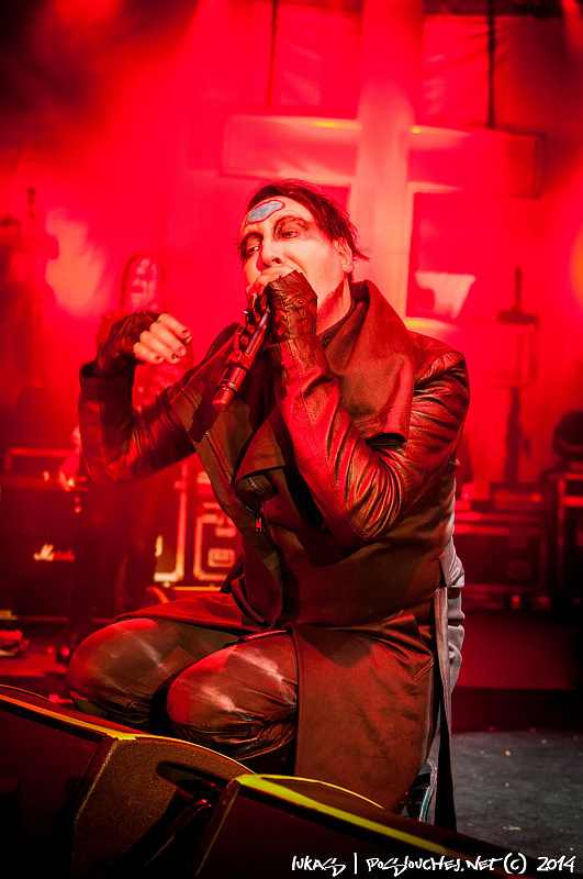 MARILYN MANSON - HEY CRUEL WORLD TOUR - Úterý 12. 8. 2014
